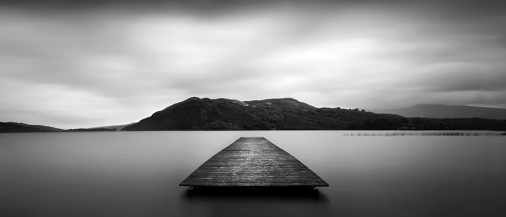 Jetty on Caragh lake, Kerry The quiet sense of something lost. ~ Alfred Tennyson