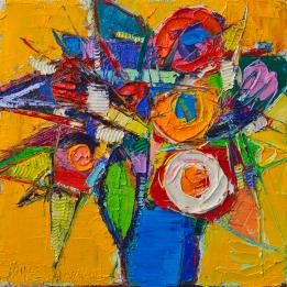 colorful-abstract-floral-geometry-expressionism-impasto-knife-oil-painting-by-ana-maria-edulescu-ana-maria-edulescu