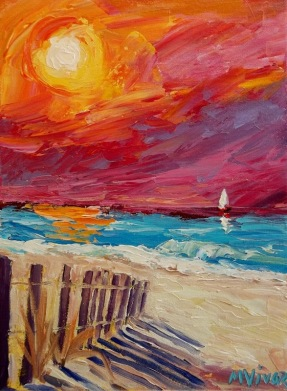 Down to the Beach ac 12x9 14050038 Mona Vivar (587x800)