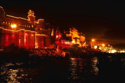 varanasi-ghats-at-night-nilu-mishra