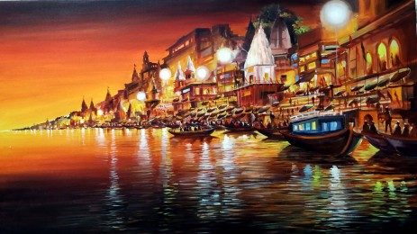 Varanasi_at_Night_44_x25