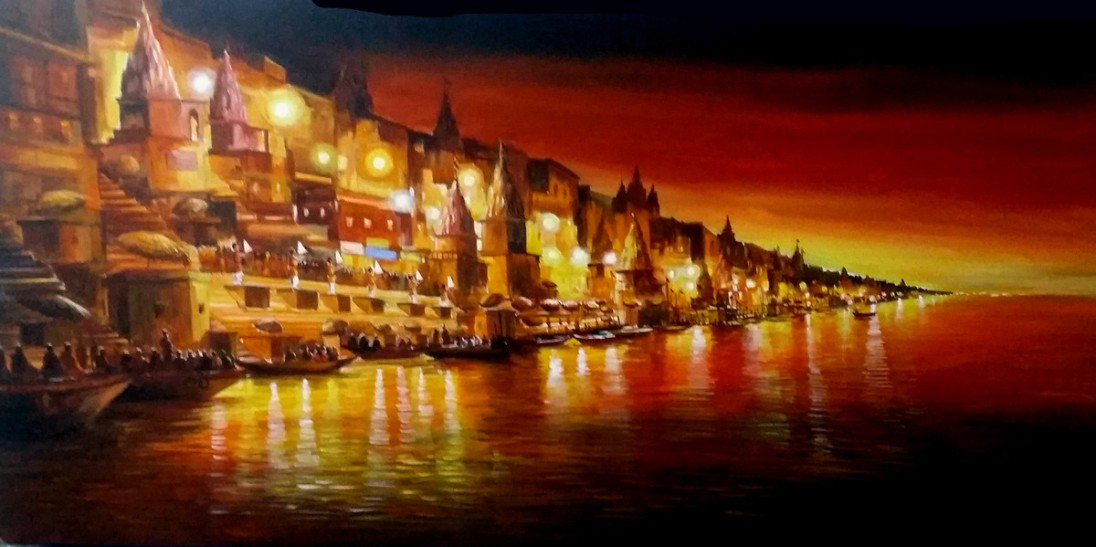 Varanasi_at_Night_47_X_24