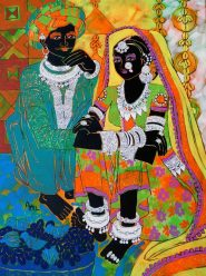 Ethnic-Serendipity-_-Acrylic-on-canvas-_-24-x-18-inches-_-SOLD-762x1024