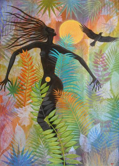 sun-kiss-eagle-woman-jungle-bliss-jennifer-baird