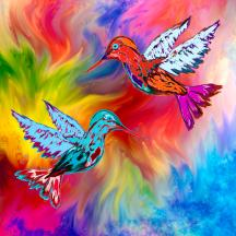 hummingbirds-in-oz-abstract-angel-artist-stephen-k